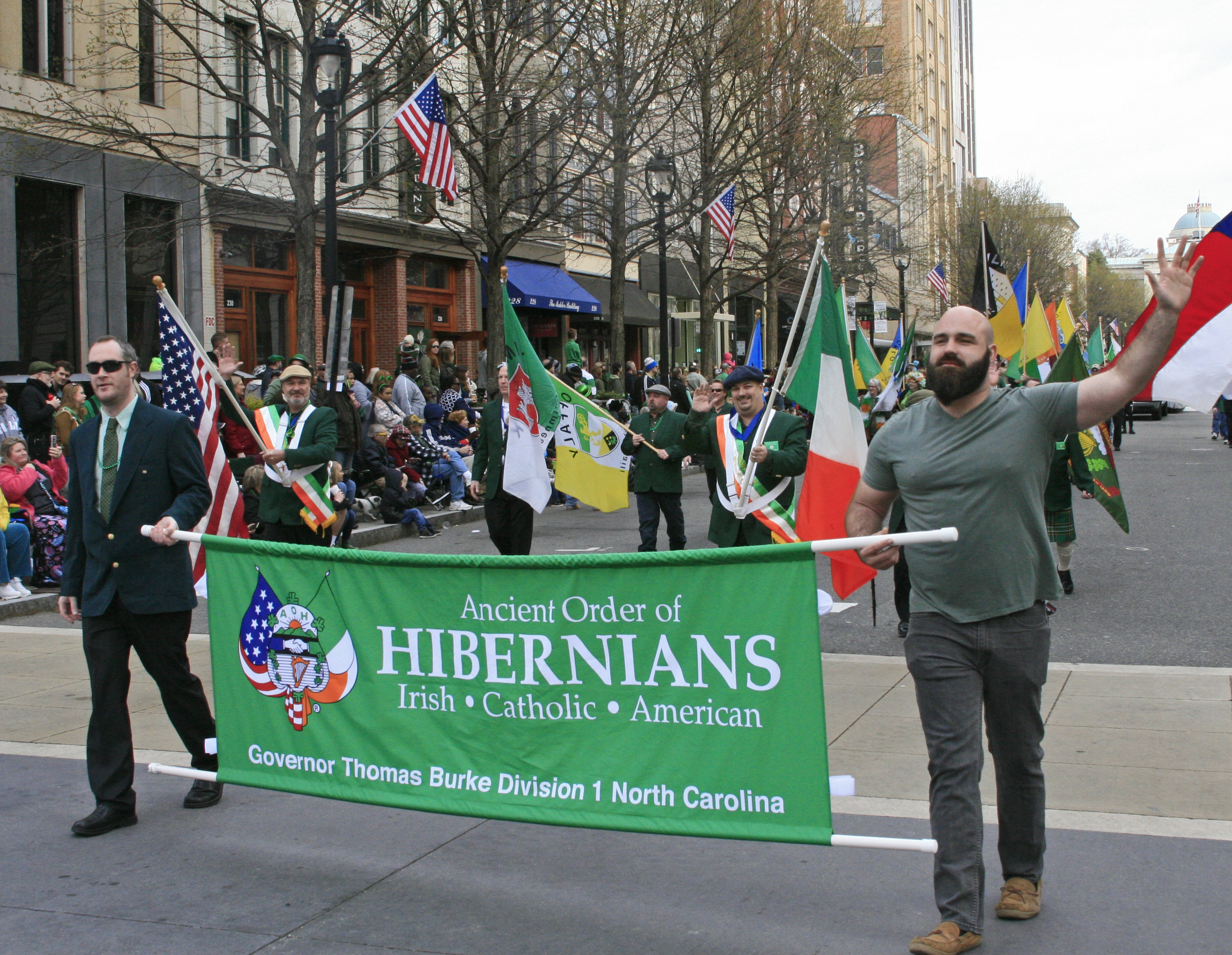 AOH on the March