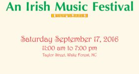 Feis in the Forest – An Irish Music Festival on 9/17