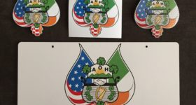 AOH Magnets, Window Clings, and License plates for sale