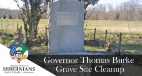 Governor Burke Gravesite Cleanup