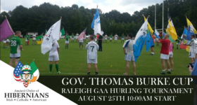 Raleigh GAA Hurling Tournament – Gov. Thomas Burke Cup